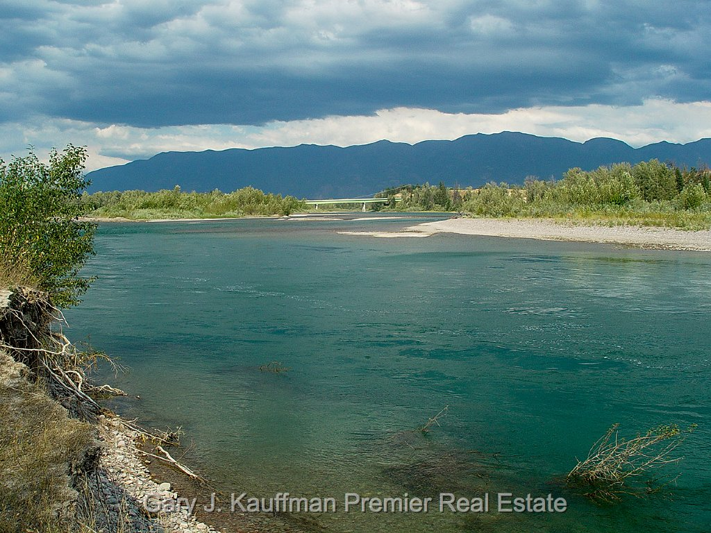 Flathead River, Evergreen, Montana